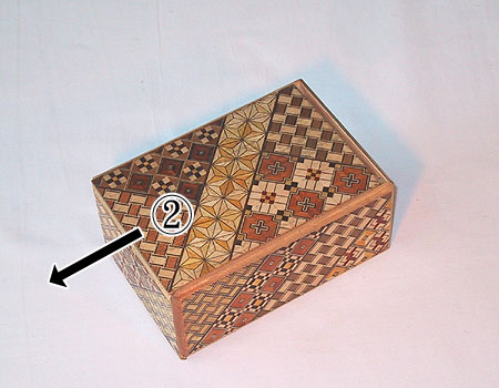 Japanese Puzzle Box step 2