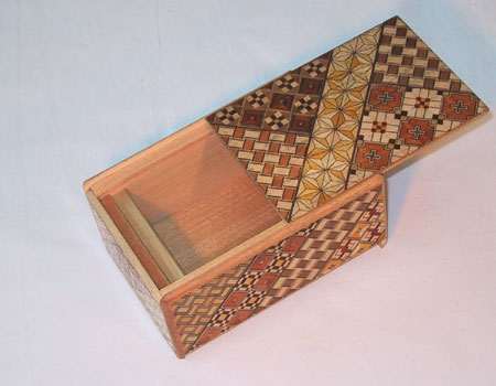 Japanese Puzzle Box open
