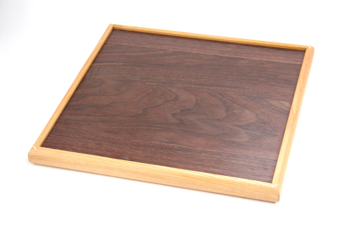 Yosegi Square tray Koyosegi large