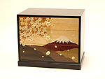 3 tier small drawers Sakura Fuji