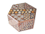 Japanese Puzzle Box 6steps Hexagon