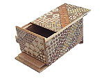 Japanese Puzzle Box 7steps dual compartment