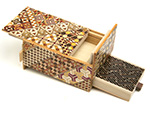 Japanese puzzle box 5sun 7+1steps with drawers