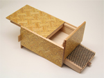 Japanese puzzle box 9+1steps with drawers