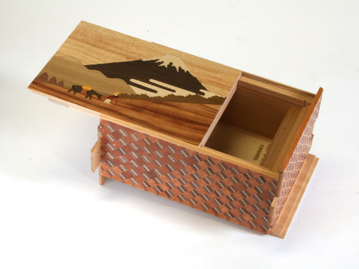 Japanese puzzle box 10steps Hakone pass