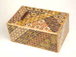 Japanese puzzle box 5sun 10steps Piggy bank