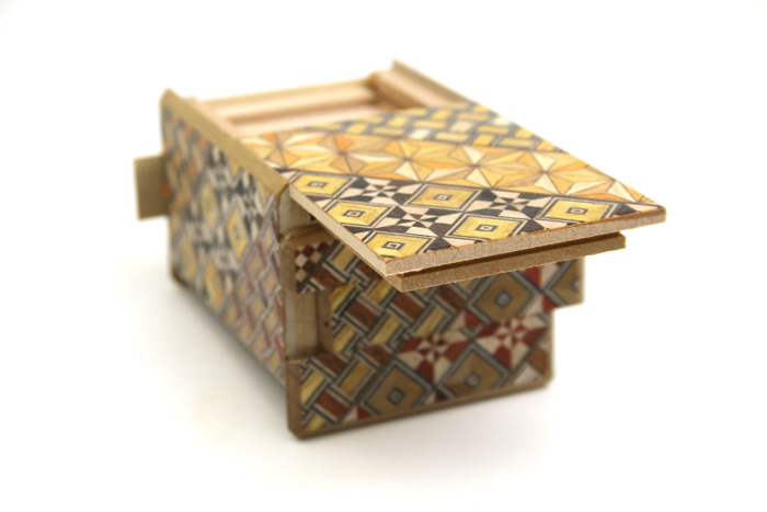 Japanese Puzzle Box 10steps 2.5sun small