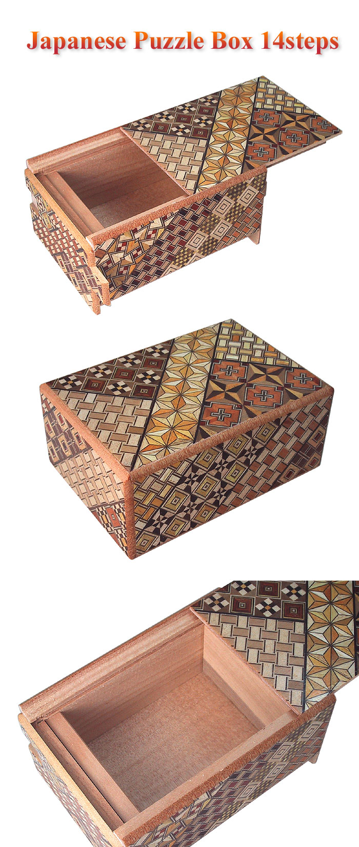 Japanese Puzzle box 14steps