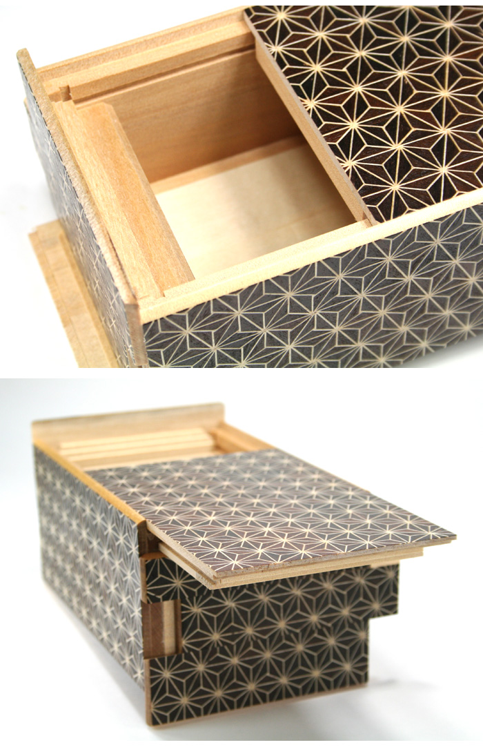 Japanese Puzzle box 21+1steps Kuroasa