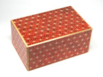 Japanese puzzle box 21+1steps Akaasa