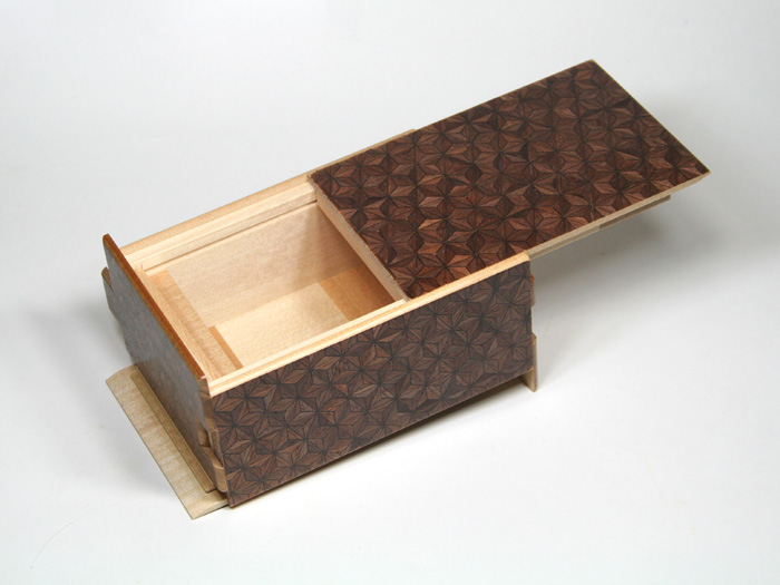 Japanese puzzle box 21steps Chaasa
