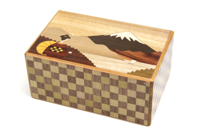 Japanese puzzle box 21steps Maiko