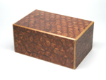 Japanese puzzle box 35steps with secret compartment Akaasa