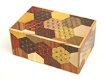 Japanese Puzzle Box 35+1steps Ran-yosegi