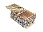 Japanese Puzzle Box 54steps with secret compartment Hanagara